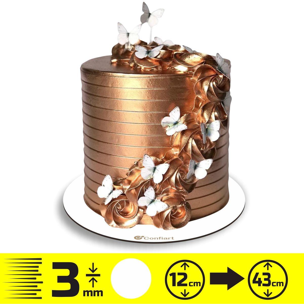 Cake board redondo 3mm