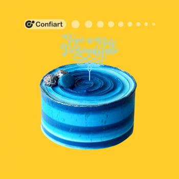 Topo de bolo personalizado até 25cm